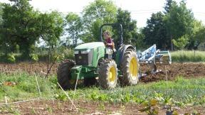 Apprentissage du tracteur